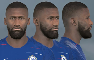 PES 2017 Faces Antonio Rudiger by WER Facemaker
