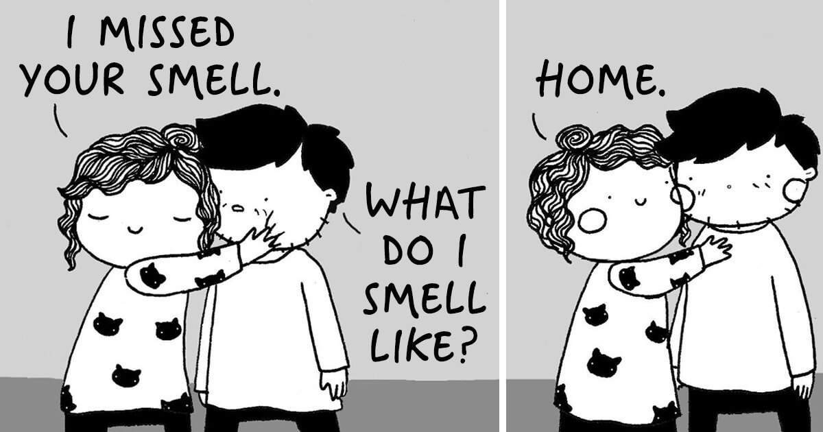 Beautiful Illustrations Depict Common Everyday Moments We All Can Relate To