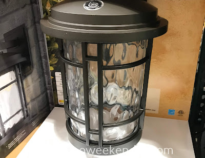Beautify the outside of your home while being functional with the Altair LED Outdoor Lantern