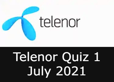 Today Telenor Answers 1 july