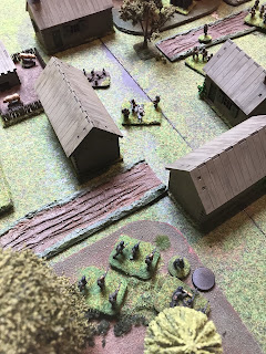Firing at each other the Germans and Soviets try to gain ground