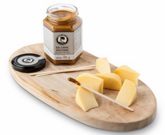 Сыр и горчица