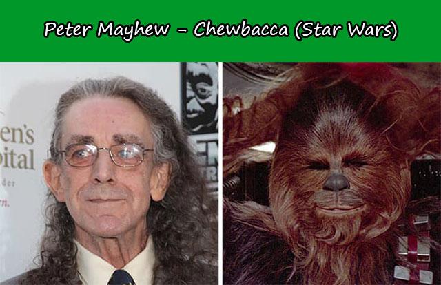 Peter Mayhew - Chewbacca (Star Wars)