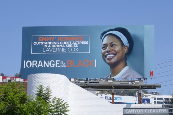Laverne Cox Orange Is New Black season 6 Emmy nominee billboard