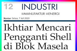 Efforts to Find a Substitute for Shell in the Masela Block