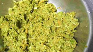 Hara bhara kabab mixture