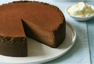 Resepi Kek Coklat Keju Yang Mudah