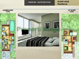 Properti-Master-Room-River-View-Residence-Sentul-City