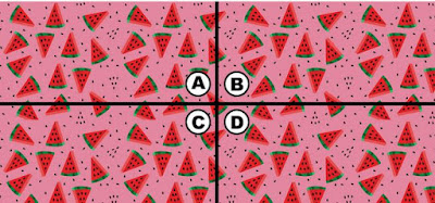 Alt-1 Q 10. oh no! kiki is dreaming of watermelon again, but this time she can't eat any of them. where is the key to get her out of this nightmare?