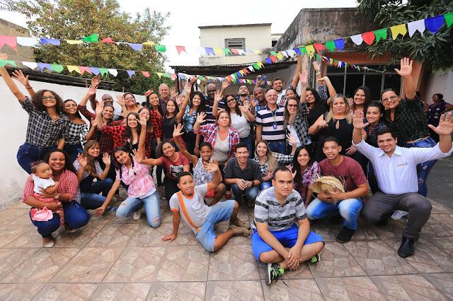 Saúde Mental de Belford Roxo socializa pacientes do Capsi em festa junina