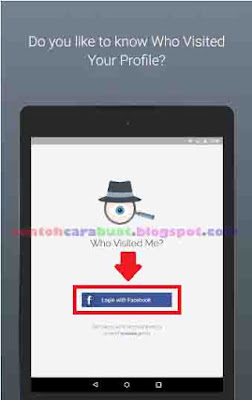 Cara Mengetahui Orang Yang Sering Melihat FB Kita Lewat HP