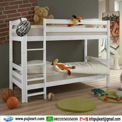 tempat tidur untuk anak model cantik minimalis