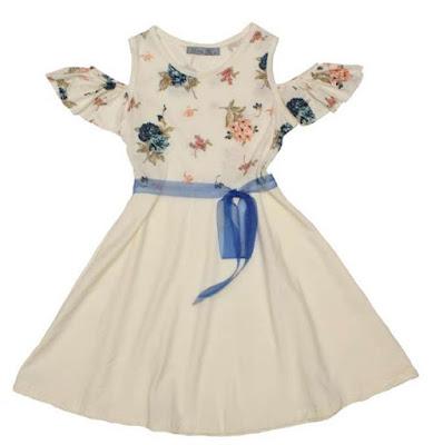 Vestidos para nenas primavera verano 2018.