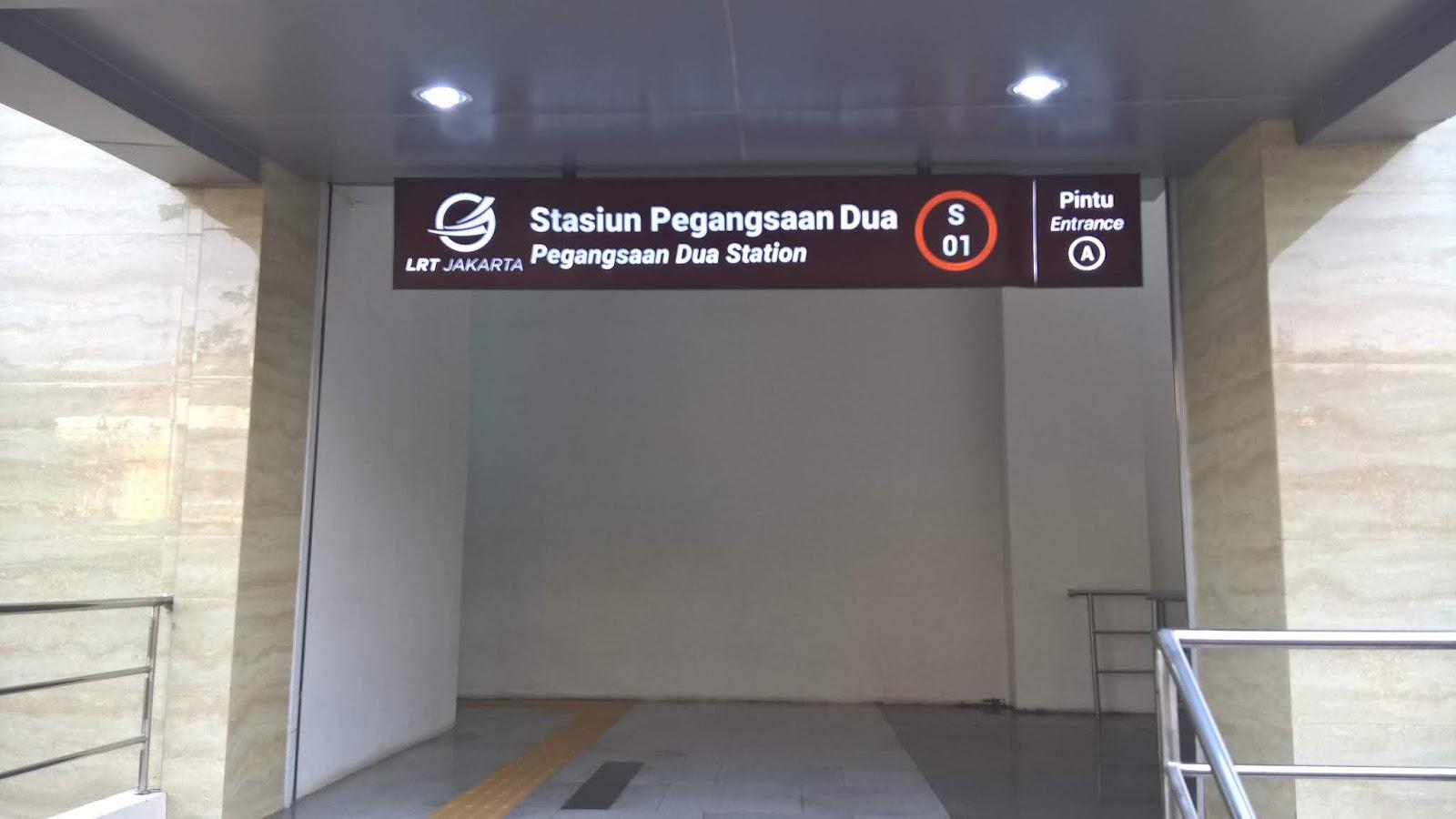 Stasiun LRT Pegangsaan Dua