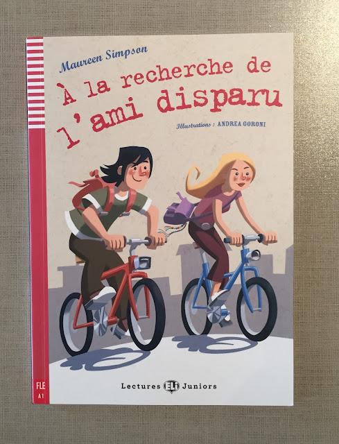 """Recenzje #192 - """"À la recherche de l'ami disparu"""" - okladka książki - Francuski przy kawie"""