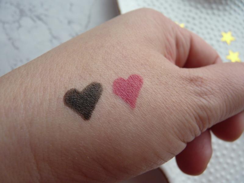 Avon True Colour Glimmerstick EyeLiner Black/Brown swatches