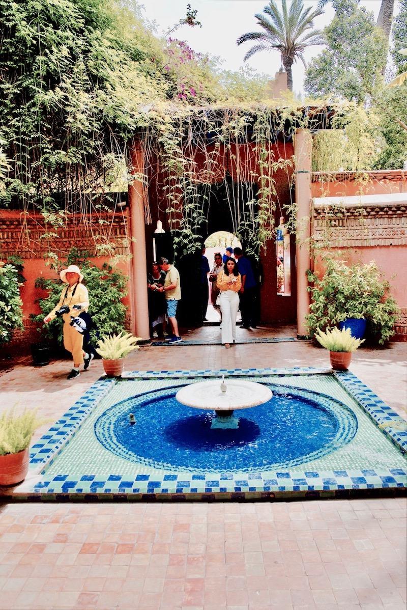 marrakesz ogród majorelle, Marrakesz ogród ysl Laurent Jardin majorelle,