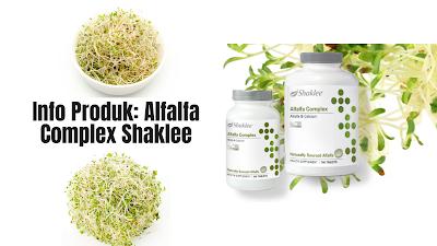 Info Produk: Alfalfa Complex Shaklee