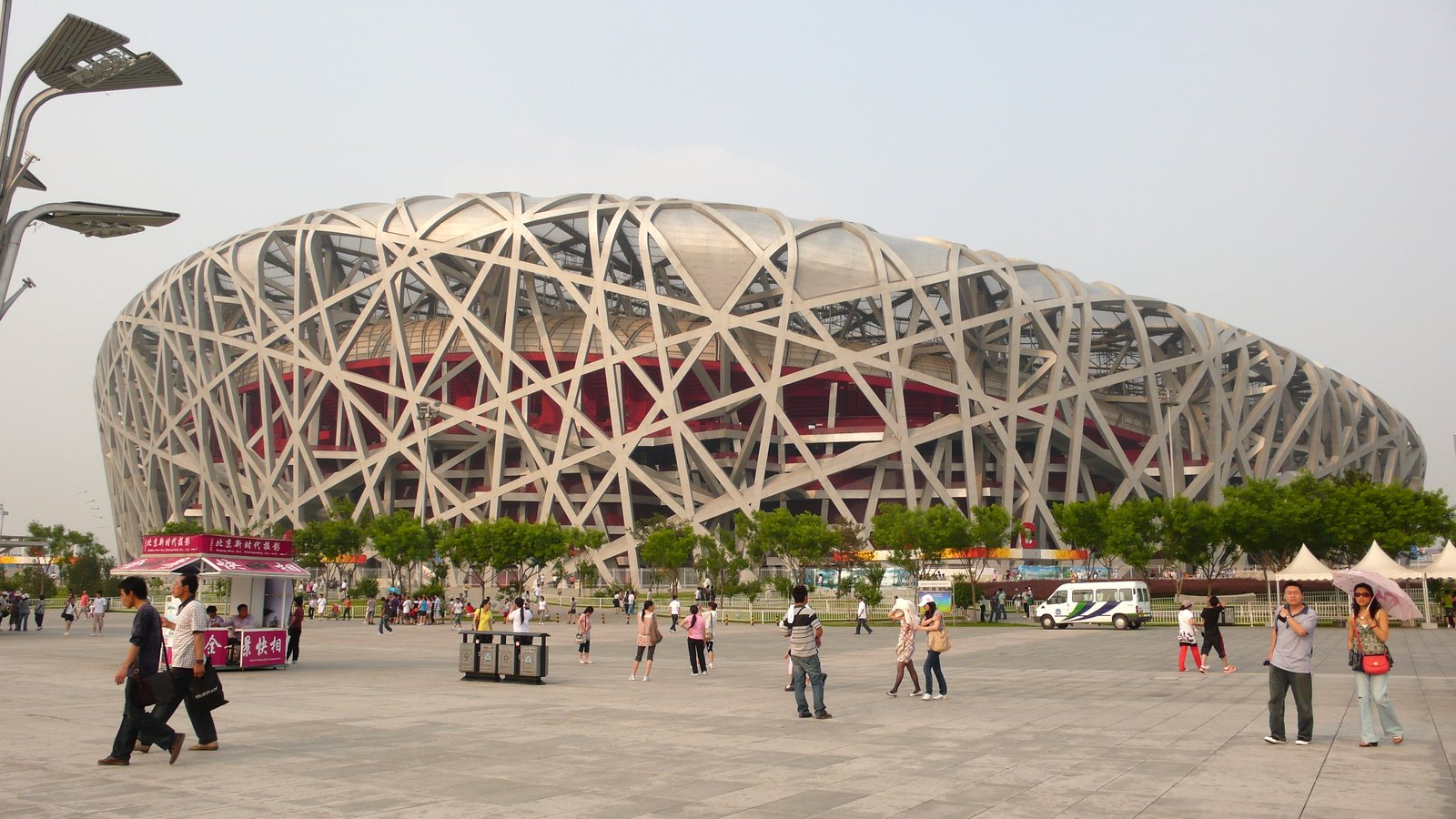 Estadio Olmpico Nacional de Beijing El Nido de pjaro