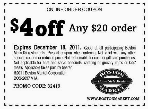 photo about Printable Boston Market Coupons named Boston market place discount codes 3 off 6 : Inns laguna seaside ca