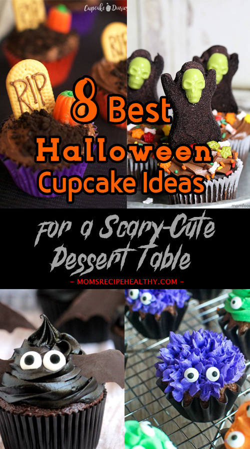 Best Halloween Cupcake Ideas for a Scary-Cute Dessert Table