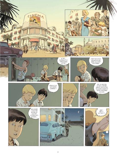 La guerre invisible Tome 1 : L'agence de Frank Giroud et Olivier Martin aux éditions Rue de Sèvres page 29