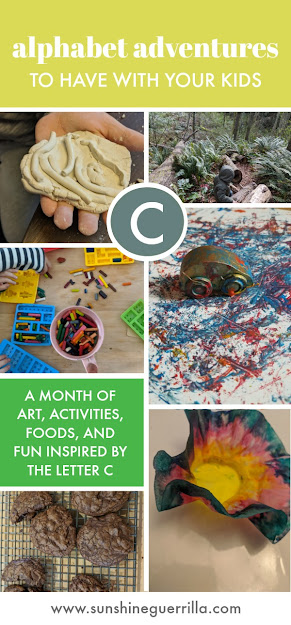 Alphabet Adventures Ideas for activities and fun that start with the letter C