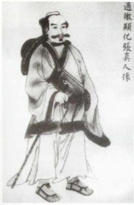 Zhang Sanfeng, souvent considéré comme l'inventeur du Taichi