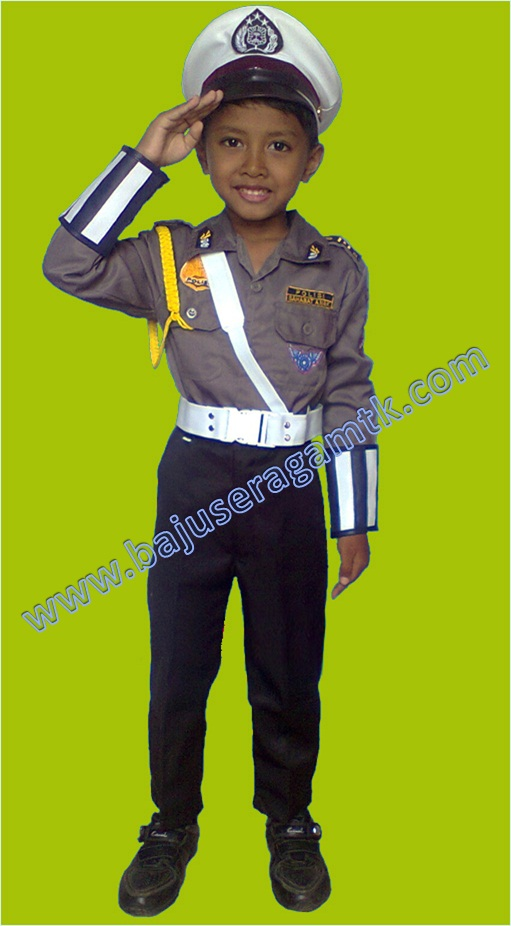 baju profesi anak baju polisi anak baju polantas anak