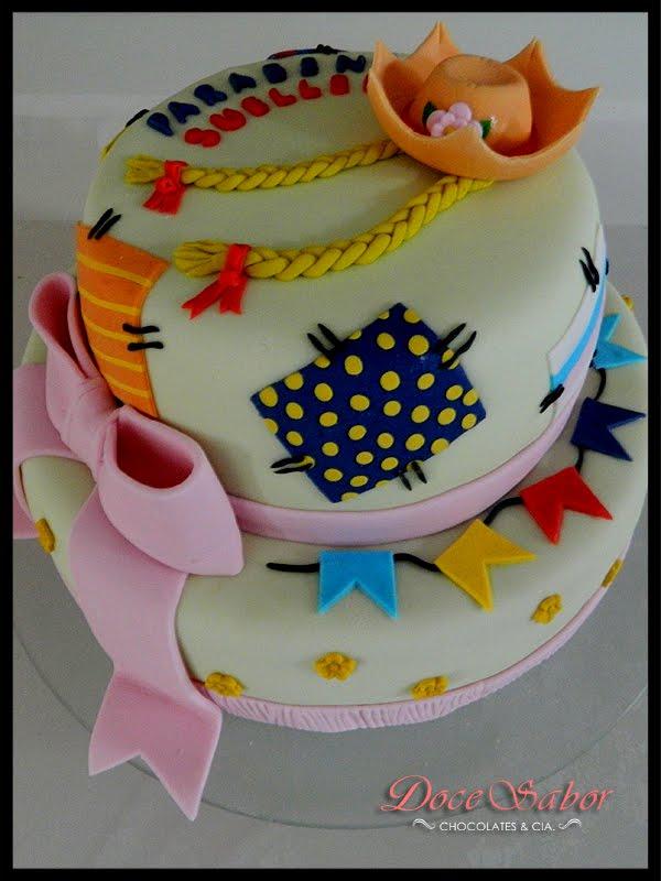Resultado de imagem para bolo lindos para festa junina