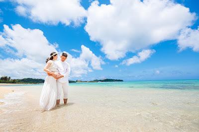 沖縄本島 綺麗な海 マタニティフォト ビーチ