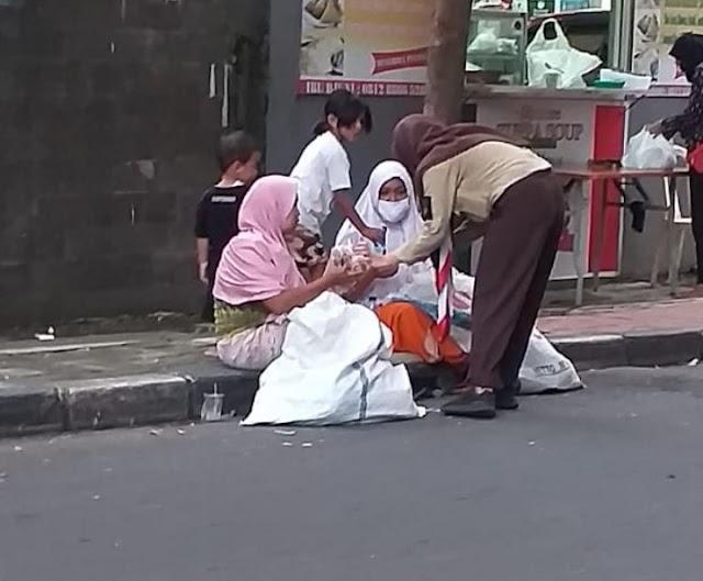 Dipenghujung Ramadhan 1441 H, Brasco Kembali Berbagi Takjil