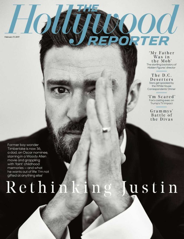 Justin Timberlake covers THR's New Issue | Talks being a Father, Why he Left NSYNC & More