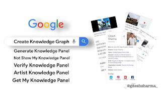 Generate Google Knowledge Panel for you, create knowledge panel not showing