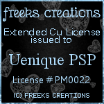 Freek's Creations Extended CU License