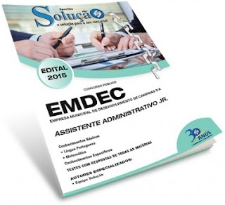 Apostila EMDEC Campinas SP 2015.