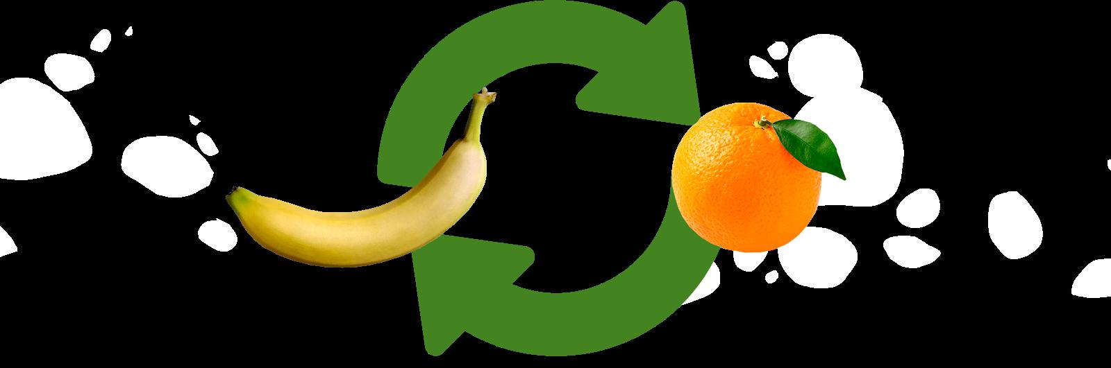 1 Banana = 1 Naranja