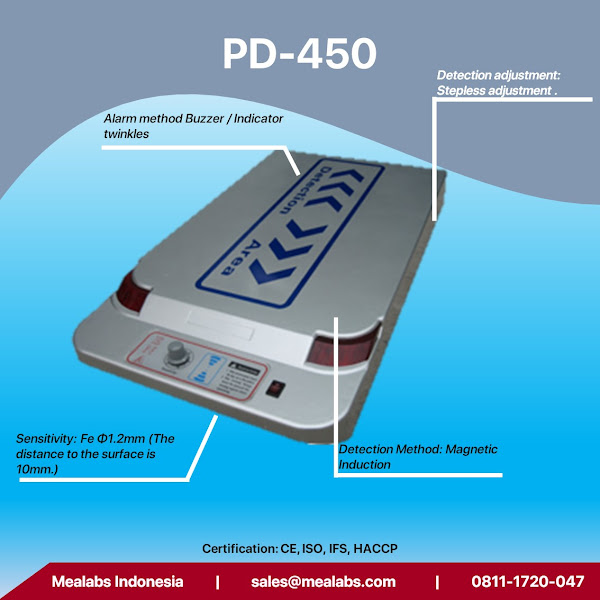 PD-450 Table Top Needle Detector