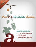 Fun Printable Games