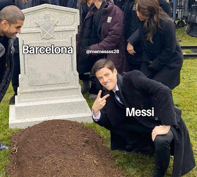 Meme Messi Pindah Lucu