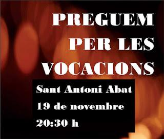 Dissabte 19 de novembre a la Parròquia de Sant Antoni Abat de Vilanova i la Geltrú