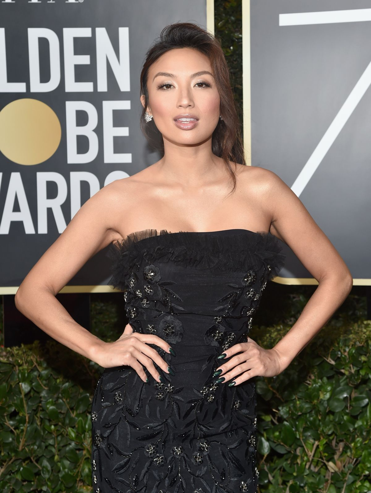 Jeannie Mai At 75Th Annual Golden Globe Awards In Beverly Hills 2018
