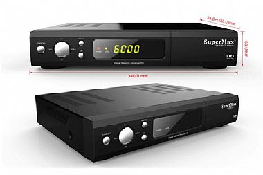 تحديث جديد لجهاز supermax SM 2425 و جهاز  Superplus  -  new update for supermax SM 2425 Superplus  ------------------- SM 2425 Power Plus • DVB-S/DVB-S2 SATELLITE COMPLIANT (MPEG-II/MPEG-IV/H.264) • SCPC & MCPC receivable from Ku and c band • Universal, Single, Single S & C Band wideband LNB • Compatible Code rates : ½, 3/5, 2/3, ¾, 4/5, 5/6, 7/8 • DisEq C 1.0/1.1/1.2/1.3 (USALS) • Blind Search supported. • Multi satellite search, network search, PID search, Manual search and Multi-TP search • PAL/NTSC • Variable aspect ratio(4:3,16:9)with PAN&SCAN vector or letter BOX option • Output Resolution: 576p50Hz & 576i25Hz, 720p50&60Hz, 1080i25&30Hz, 1080P50 &60Hz • True full color (32 Bits) on screen display (OSD) • Storing memory :more then 100 satellite,1500 Transponders and 8000 channels • Supported Satellite add, Delete, Rename • Supported Transponder add, delete, edit. • 8favorite group and parental lock supported. • Favorite group add, delete, rename • Supported program lock, delete move (group move), rename • Supported multi-language Menue (English, Franch, Russain, Greek, Italian, Arabic, Farsi, Ukrain, Swedish, Spanish, Turkish, German etc). • Sort Function : Language, FTA, sat, TP, FAV, Alphabet; • Support multi epg language • Multi-Language audio. • Multi-language DVB Subtitle output(Now/Next Daily, Weekly) Electronic Program Guide (EPG)Up to 7 days • Teletext output through VBI and OSD. • Software and additional data upgrade through USB or Ethernet • 2 USB 2.0 Interface • S/PDIF interface for digital bit stream out (AC-3 or DTS) • CA Support • Games Support (Native Game / Native32 Game/ NES Game) • Play media files from samba • Supported ISO DVD and BD • Supported 3G • Supported USB WI-FI