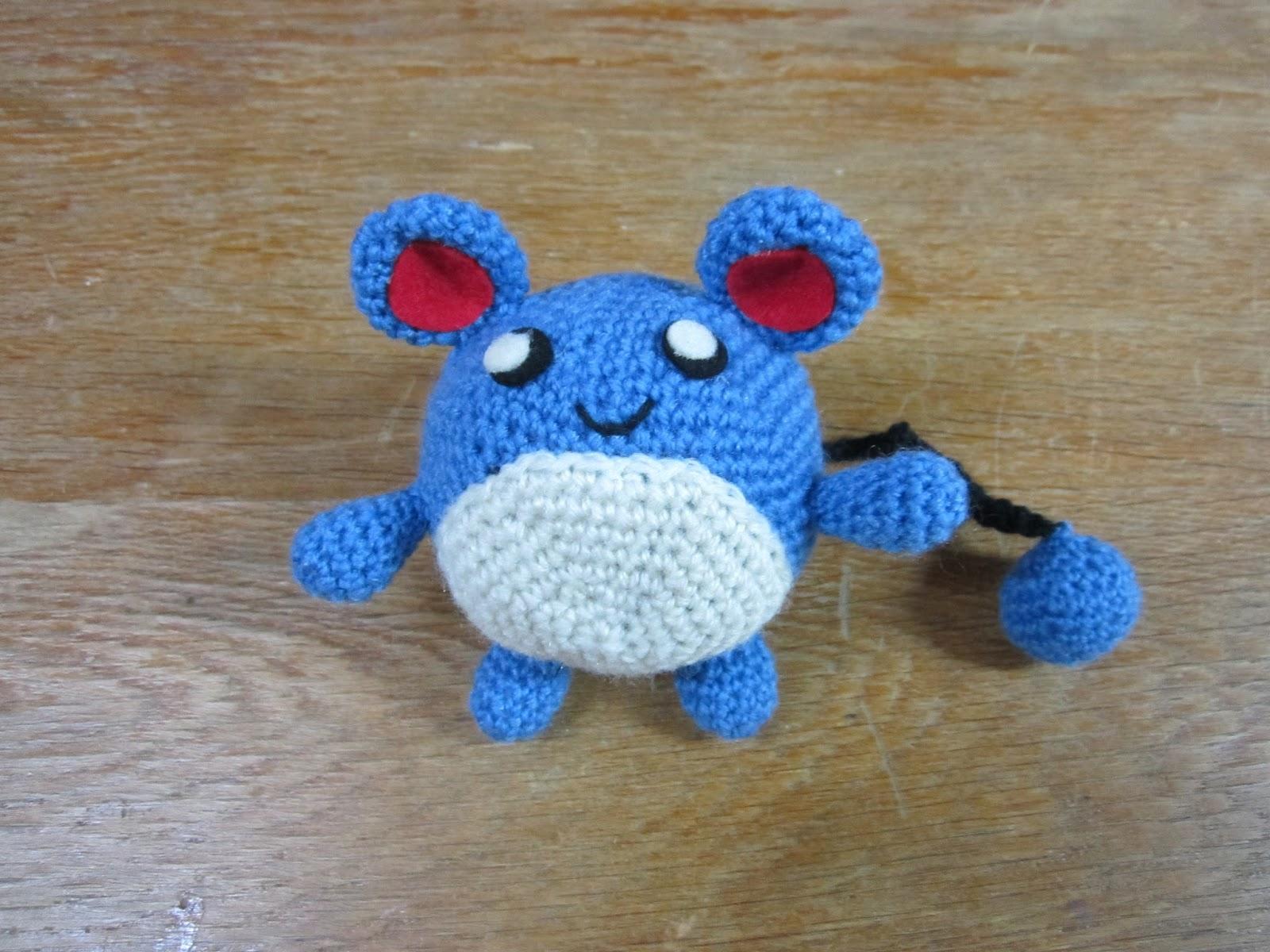 Crochet pattern Marill | Pokemon crochet pattern, Crochet patterns ... | 1200x1600