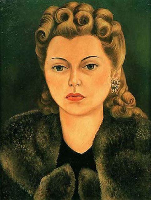 Фрида Кало - Портрет Наташи Гельман. 1943