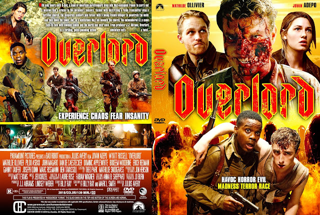 Overlord DVD Cover