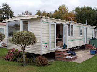 static caravan double glazing windows and doors
