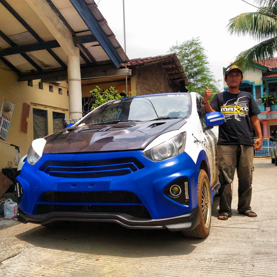 Modifikasi Daihatsu Ayla Indonesia Widyo Bodykit Mobil Indonesia