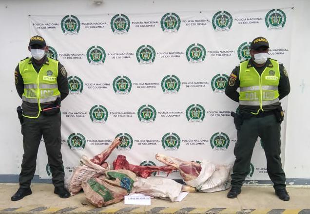 hoyennoticia.com, En Uribia decomisaron 50 kilos de carne de dudosa procedencia