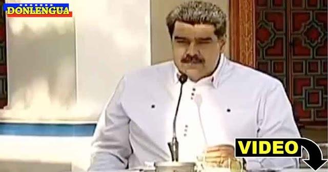 Maduro se burla de los médicos presumiendo que él si está vacunado